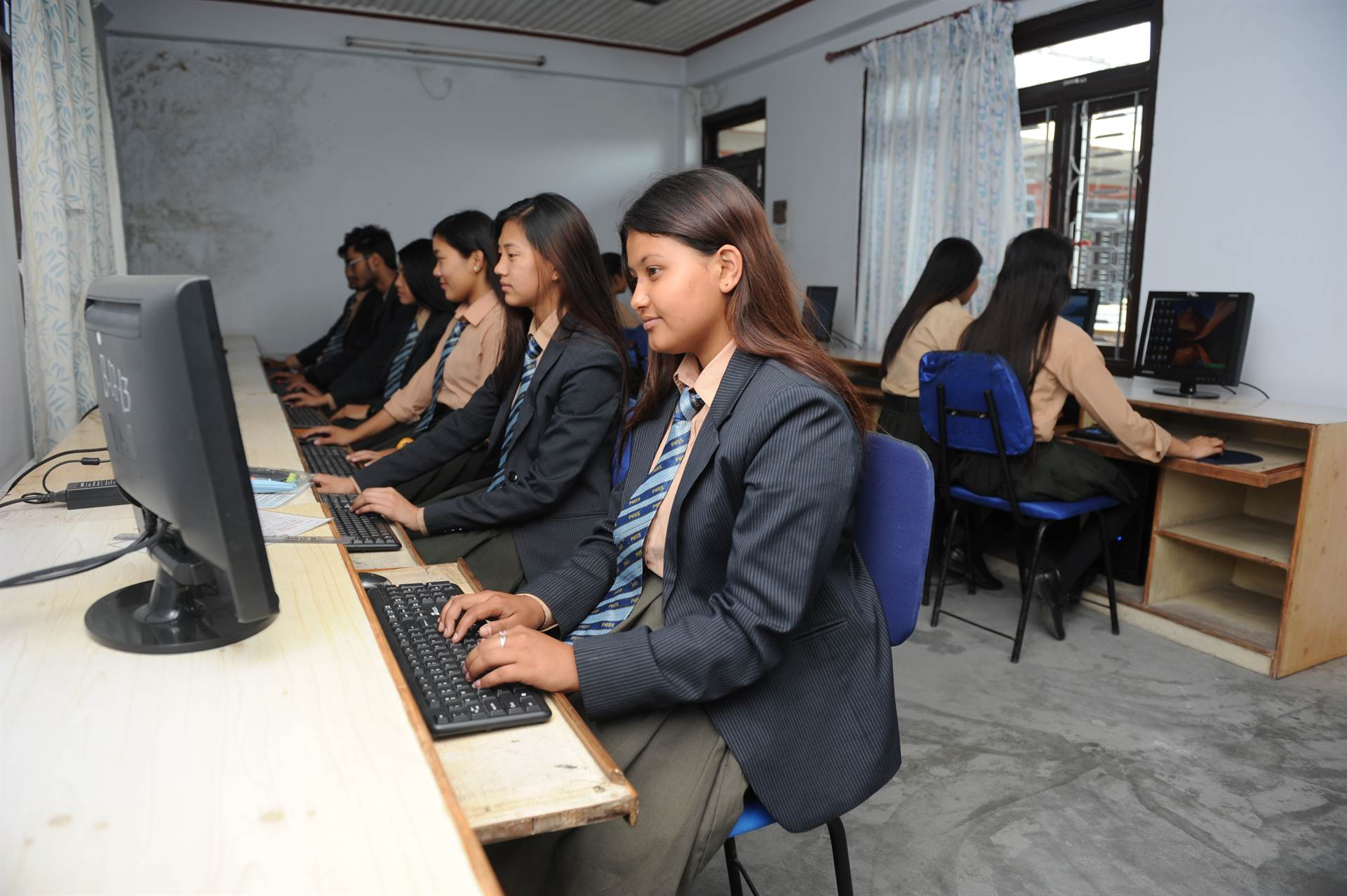 Computer Lab at PSS