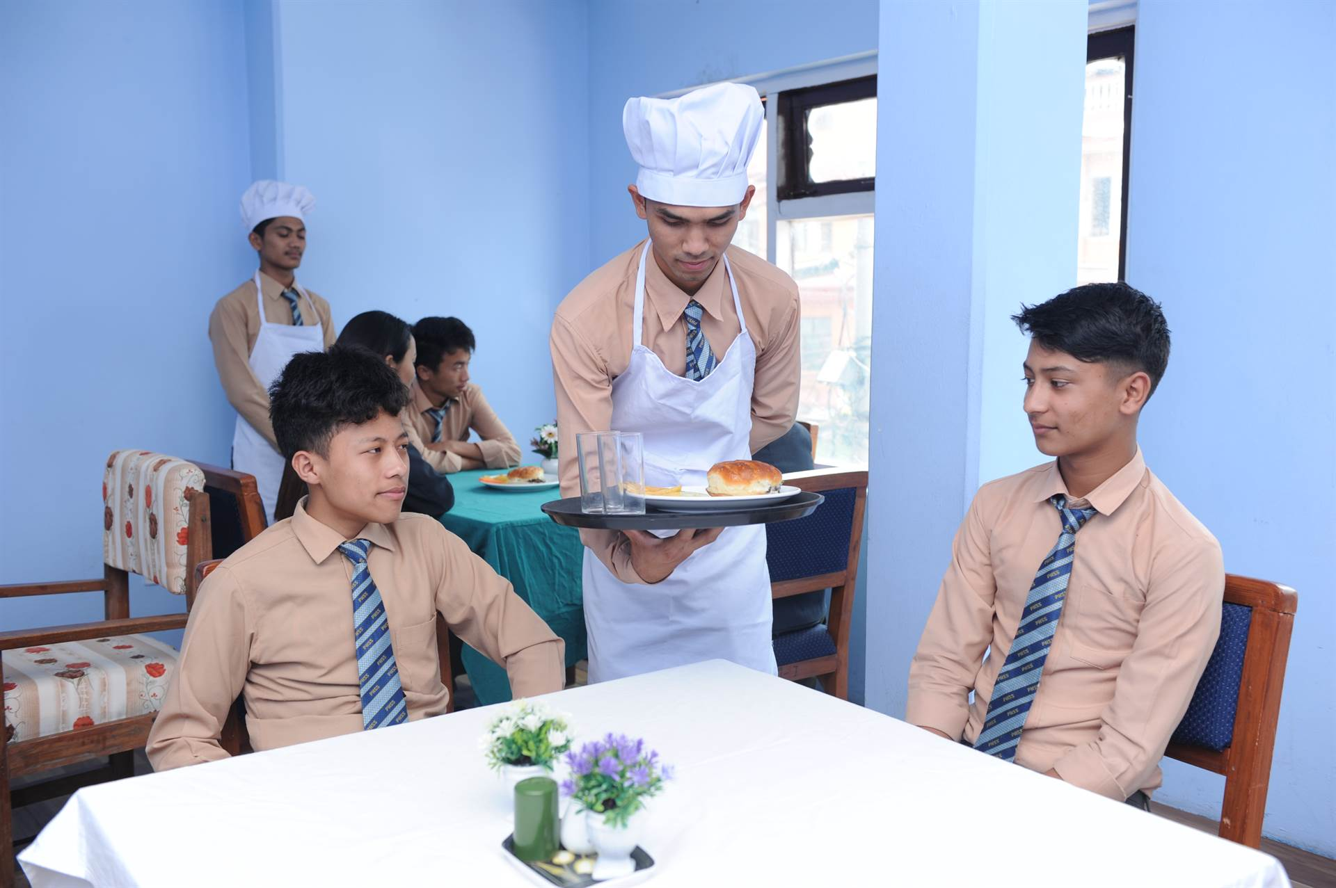 Hotel Management Lab at PSS