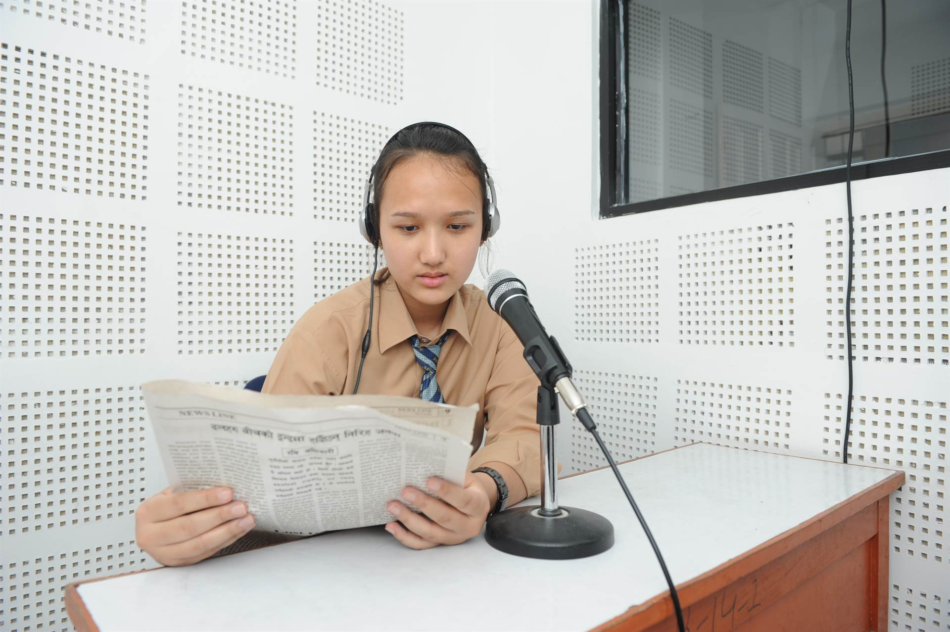 Radio lab at PSS